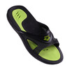 arena Hydrofit Sandals Men black/black/green